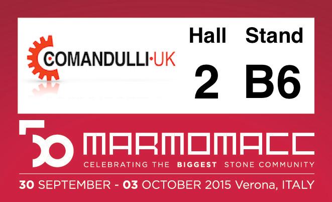 Marmomacc 50 – Verona, Italy – 28 Sept – 3 October